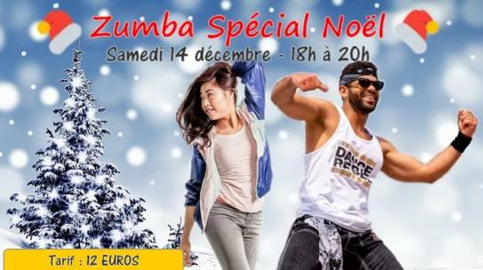 Zumba de Noël – 14 décembre 2019