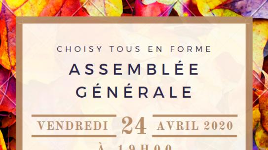 Report Assemblée Générale